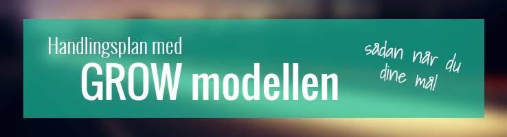 Handlingsplan med GROW modellen
