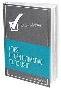 7 tips til din to-do liste