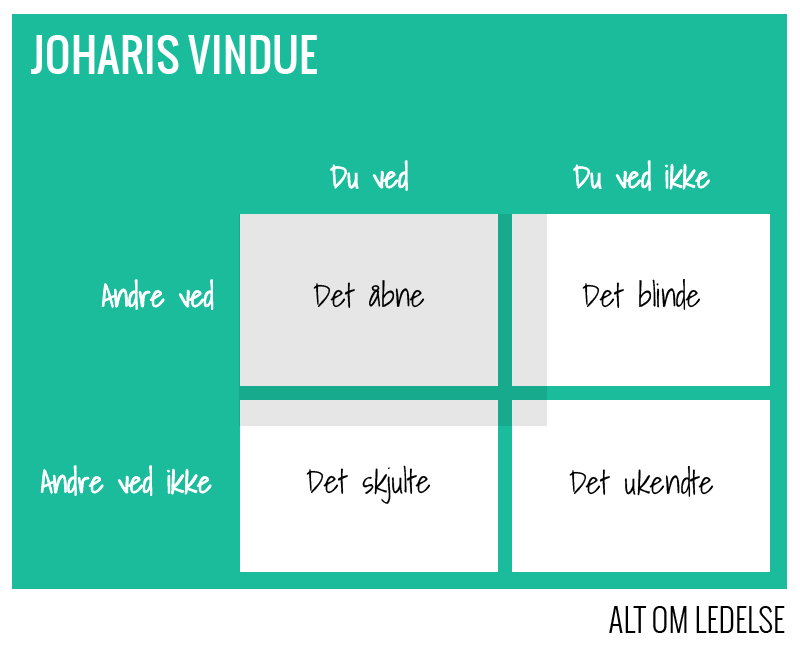 Joharis Vindue - Værktøj til teamudvikling