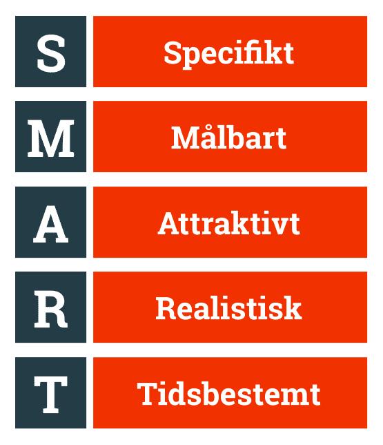 SMART-modellen - hvad betyder bogstaverne i forkortelsen