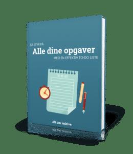 Hent bogen: 'å styr på opgaverne med en effektiv to-do liste'