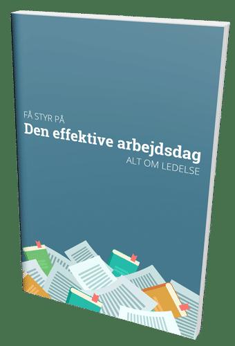 Køb bogen 'Få styr på den effektive arbejdsdag' med 40 % rabat lige nu